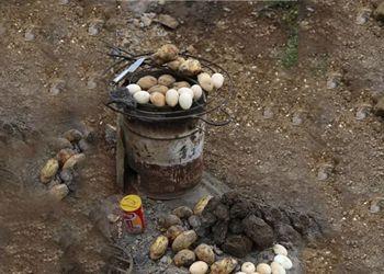 原生故事|大山包上,马粪烤的蛋蛋和糊糊